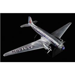 DC-3 aircraft filming miniature from Night at the Museum: Battle of the Smithsonian