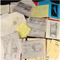 Huge archive of storyboards and production files from Star Wars ESB and ROTJ