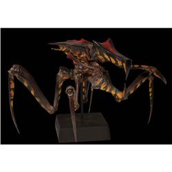 "Starship Troopers six painted bug maquettes including ""Larva"""