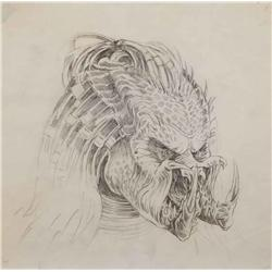 Conceptual artwork for creature design from Predator