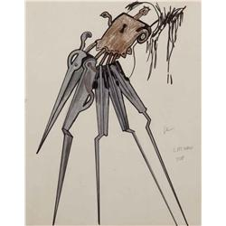 Conceptual artwork from Edward Scissorhands
