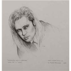 "Mark ""Crash"" McCreery concept drawing of Brad Pitt as ""Louis"" from Interview with the Vampire"