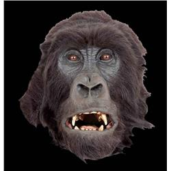 Hero animatronic and background silverback gorilla heads from Instinct