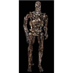 T2: Judgment Day Original Full-Scale Screen-Used Battlefield T-800 Endoskeleton