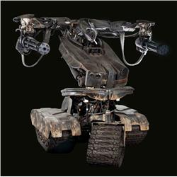 Screen-used T-1 battle ready drone from T4: Salvation