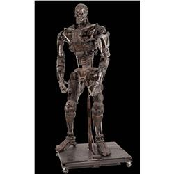 T4: Salvation original screen-used full-scale model T-600 Endoskeleton