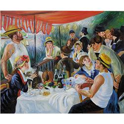 Renoir - Luncheon of the Boating Party