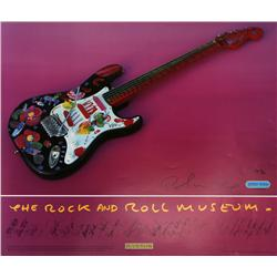 Peter Max, Rock and Roll Hall of Fame Museum, Signed Poster