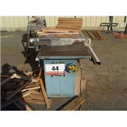 "Jet 10"" Table Saw"