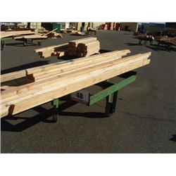 4'x5' 4-Wheeled Steel Lumber Carts