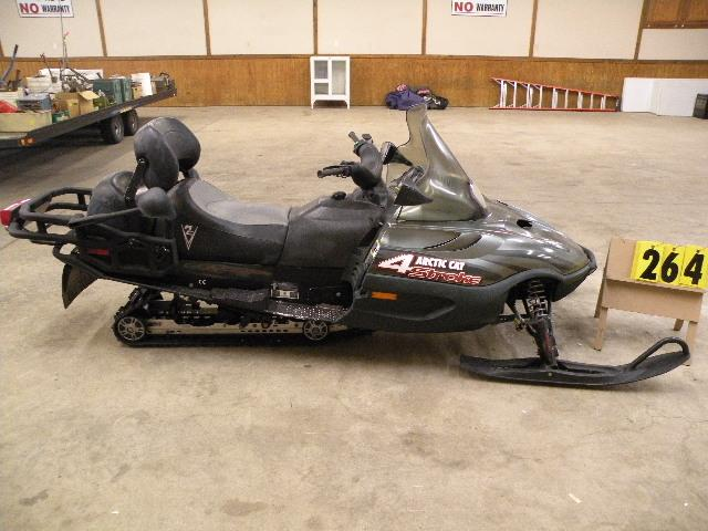 2002 Arctic Cat Touring 660 Panther 4 stroke SN ...