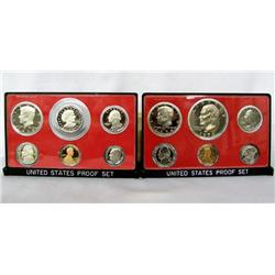 1974 and 1979 United States Proof Sets