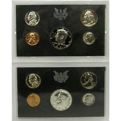1969 and 1971 United States Proof Set