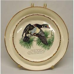 Limited Edition ''Duck'' Advertising Plate