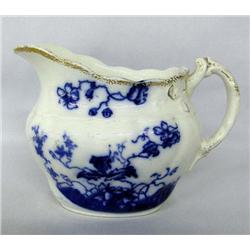 Antique English Flow Blue W.H. Grindley Pitcher