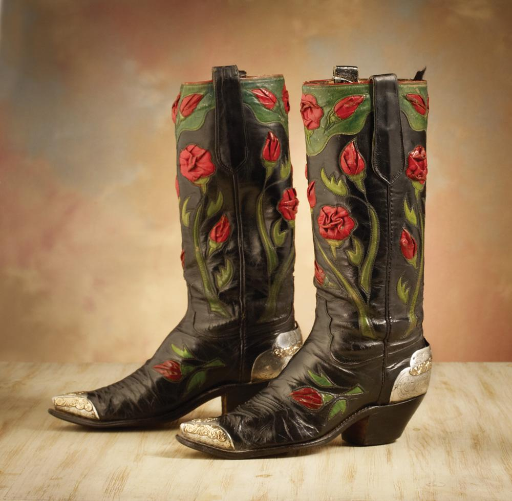 roy rogers 1911 1998 rose parade boots