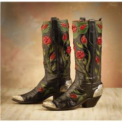 Roy Rogers' (1911-1998) Rose Parade Boots