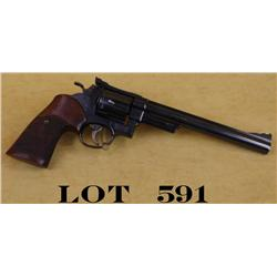 "Smith & Wesson Model 57-1 DA revolver, .41  Magnum, 8-3/8"" barrel, blue finish, target  hammer and t"