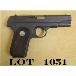 Colt Model 1903 semi-auto pistol, .32 ACP  cal., U.S. Property marked, military finish,  in Kraft bo