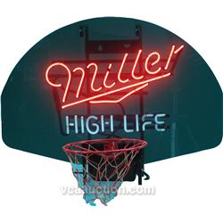 miller high life neon light. Black Bedroom Furniture Sets. Home Design Ideas