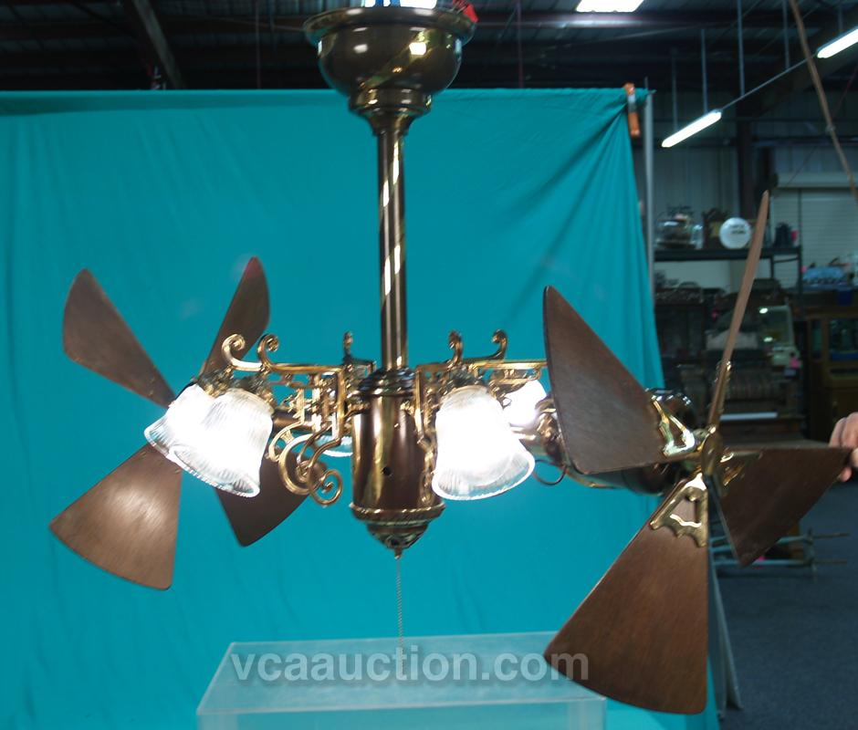 Extremely Large Ceiling Fan: Large Very Ornate Gyro Ceiling Fan
