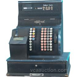 Early National Cash Register Gas Station Model
