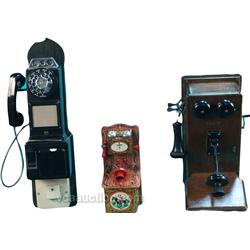 Lot Of 3 Telephones:
