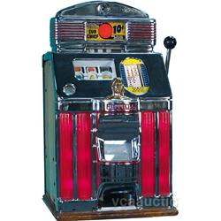 10 Cent Jennings Sun Chief Tic-Tac-Toe Slot Machine,
