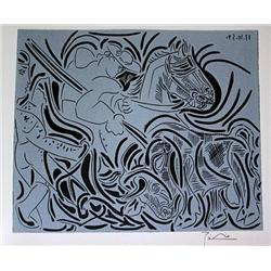Picasso Original Linocut - Hand Pulled and Signed