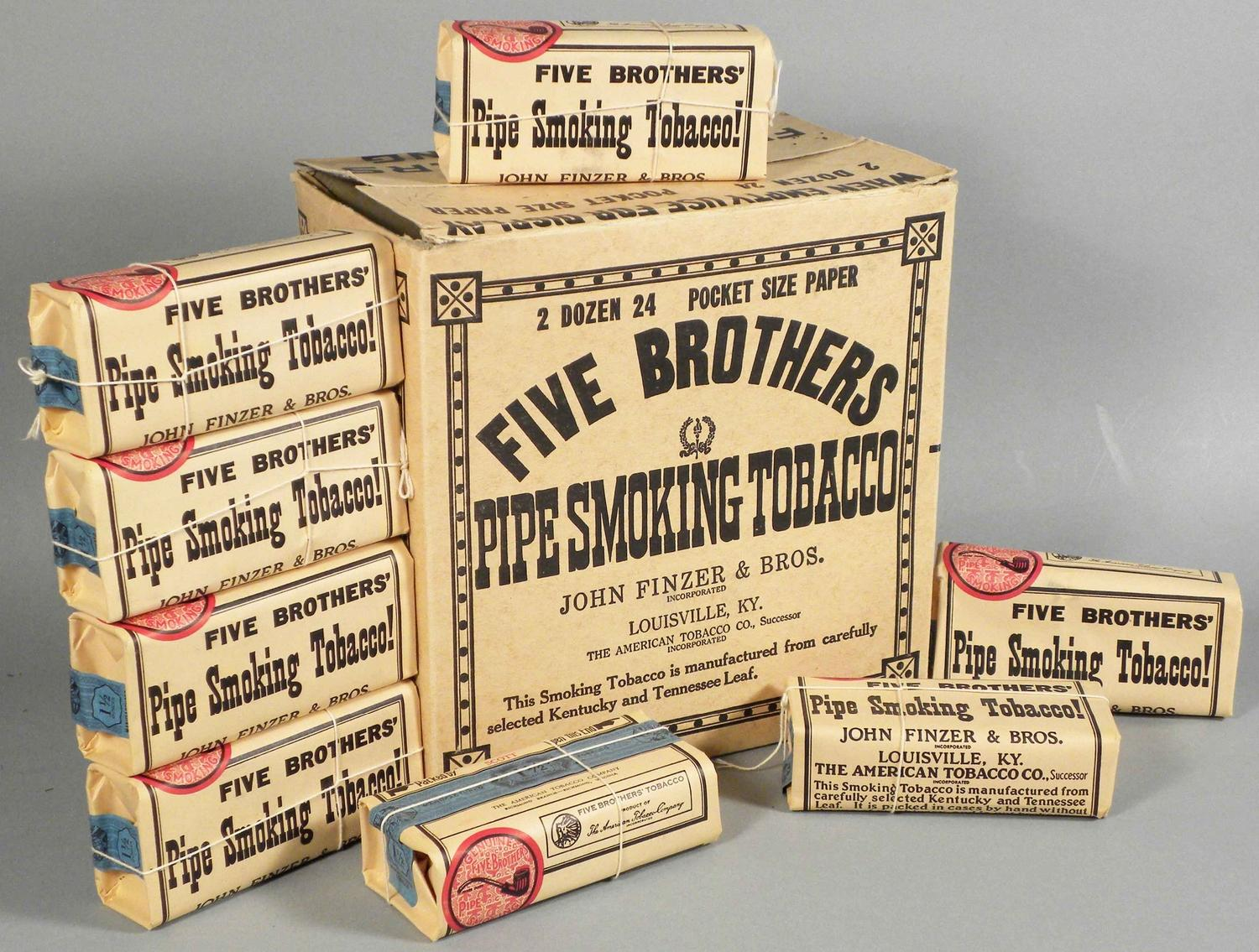 Image 1 Five Brothers Tobacco Store Display Box