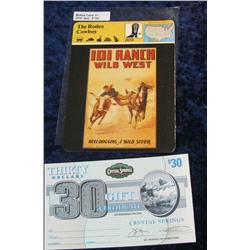 156. 1980 Panarizon Publishing Corp.  The Rodeo Cowboy  Card