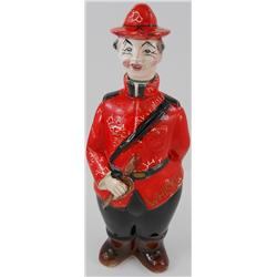 Old RCMP Mounties Whiskey Decanter