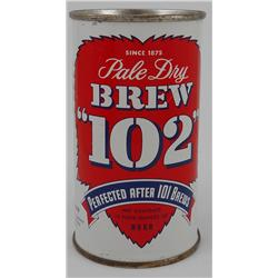 "Brew ""102"" Flat-Top Beer Can, Los Angeles"