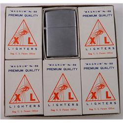 6 Zippo-Style Lighters in Original Display Box
