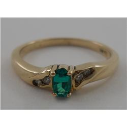 Estate Jewelry 10k Gold Ring
