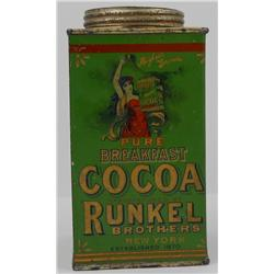 RUNKEL'S Breakfast Cocoa Tin