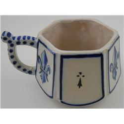 Small Quimper Tea Cup
