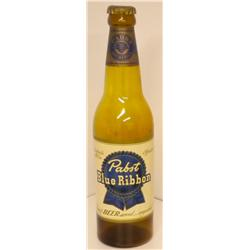 Pabst Blue Ribbon Glass Display Bottle