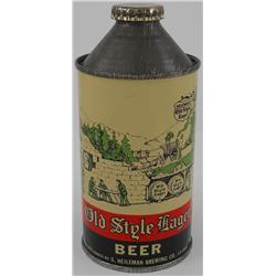 Old Style Lager High-Profile Cone-Top Beer Can