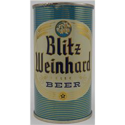 Blitz Weinhard 1950s Flat-Top Beer Can