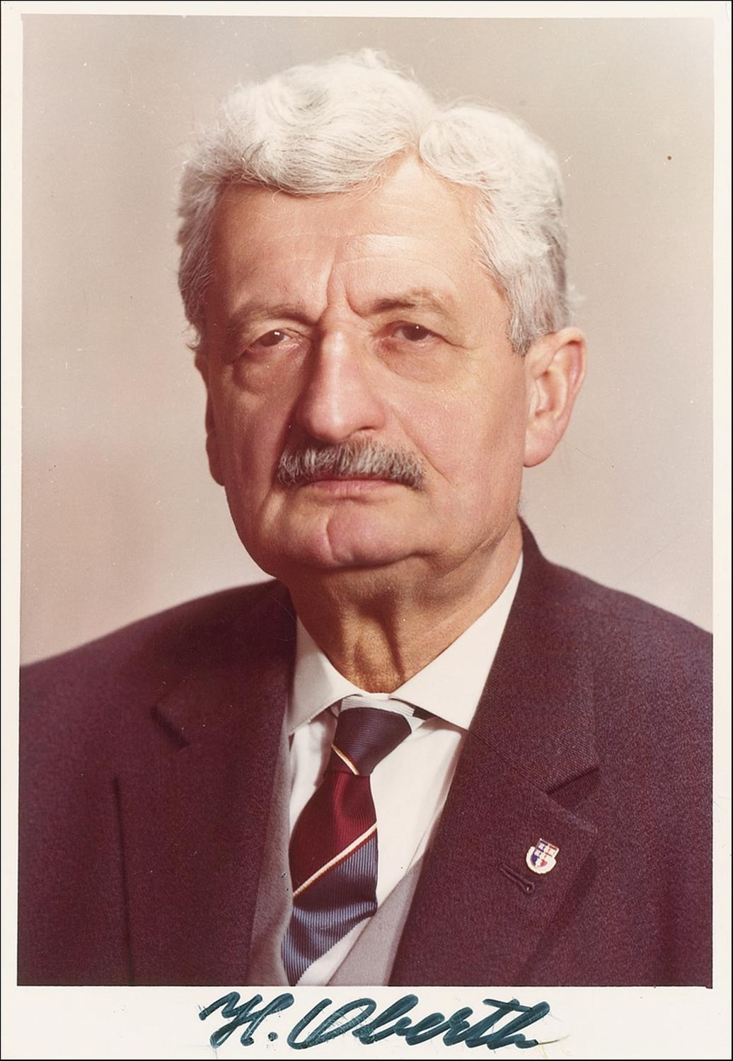 ... is the goal: To make available for by Hermann Oberth @ Like Success