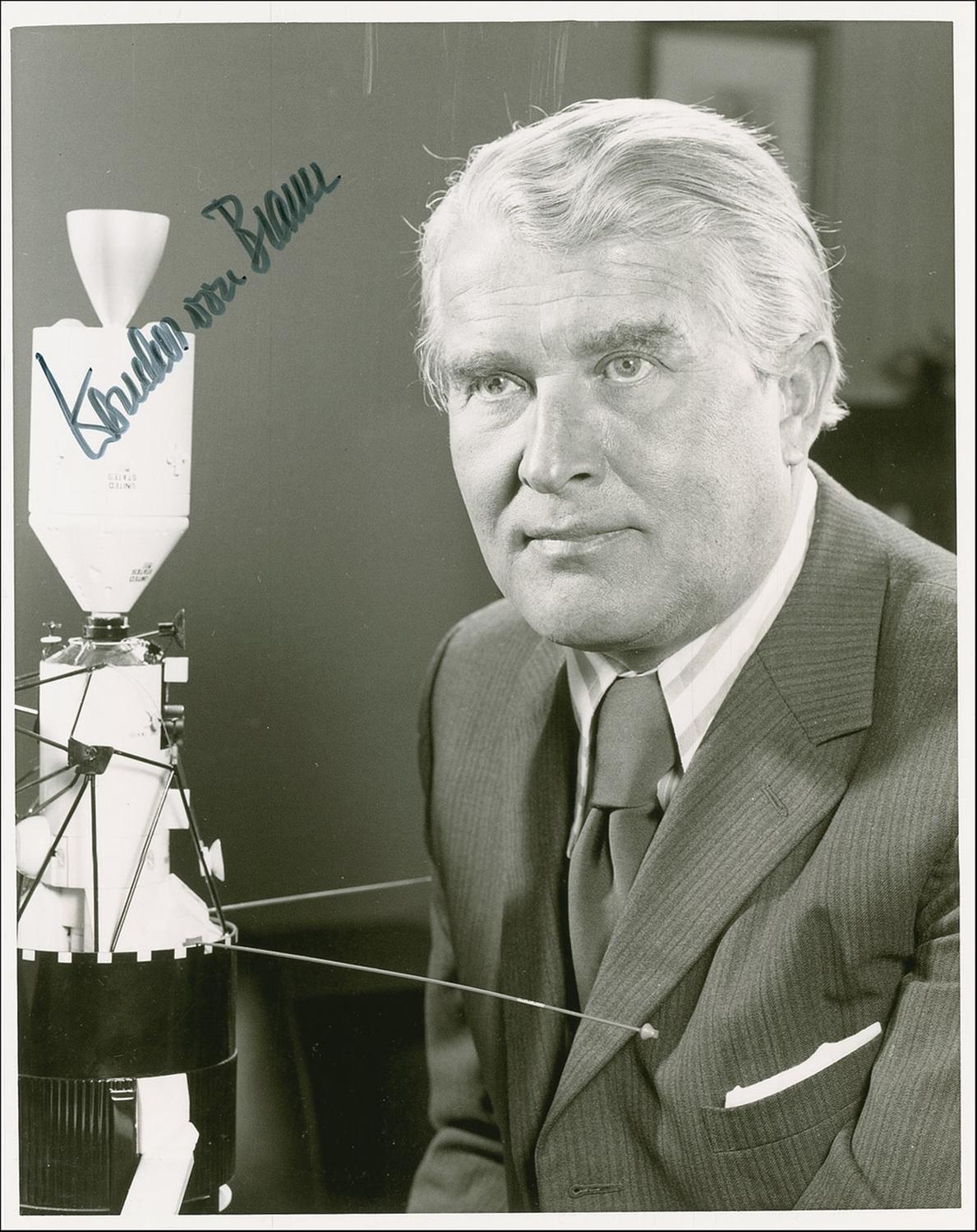 wherner von braun Wernher von braun, developer of the v-2, later directed the american man-in-space effort he never forgot the sense of awe of god's creation.