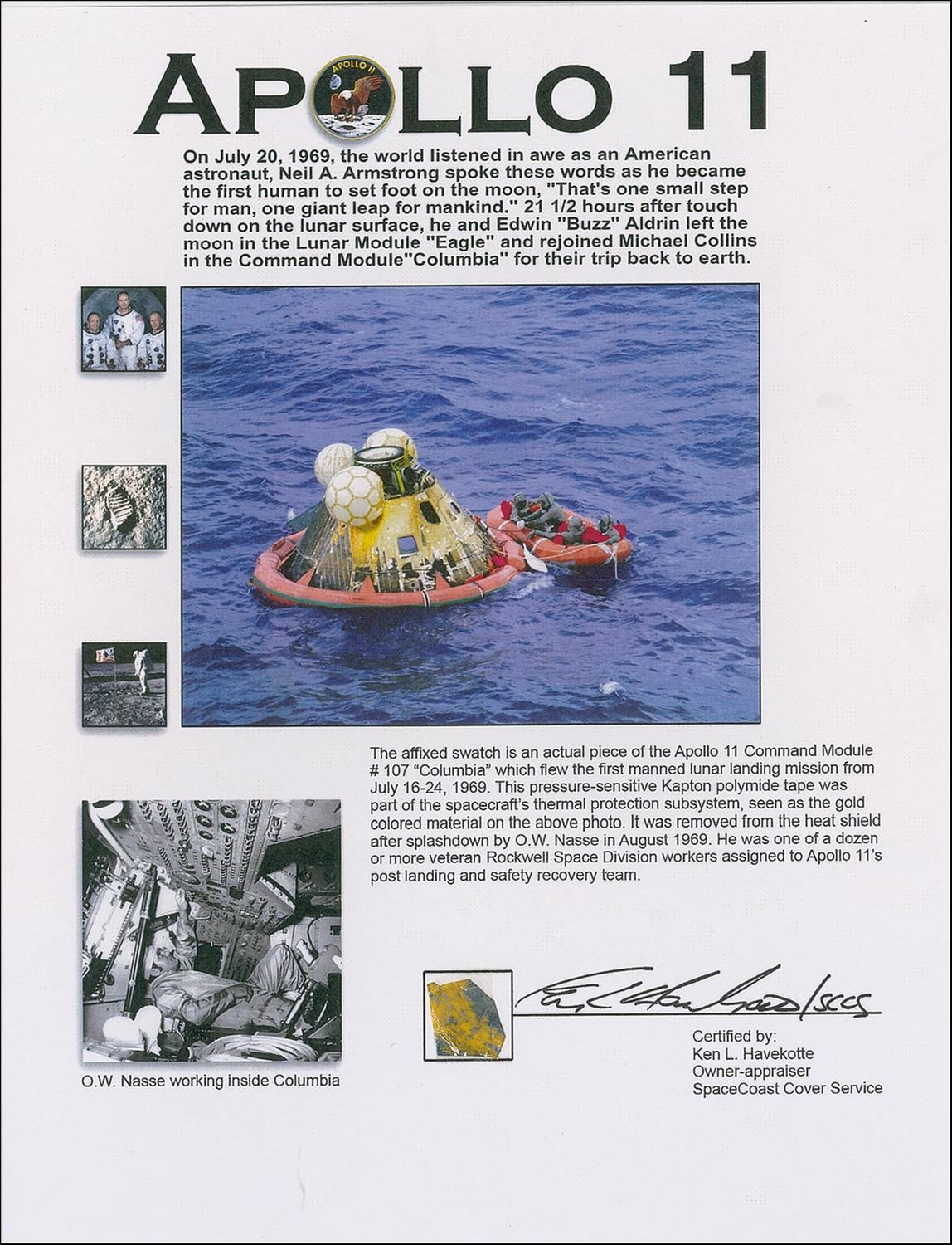apollo 11 splashdown location - photo #44