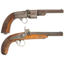 Two Antique Handguns