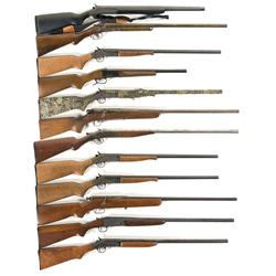 Eleven Single Shot Shotguns and One Double Barrel Shotgun- A) New England Firearms Special Purpose P