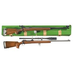 Two Bolt Action Target Rifles