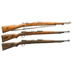 Three Bolt Action Martial Rifles