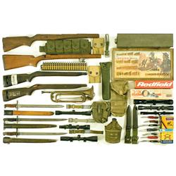 Web Gear, Edged Weapons, Scopes and Other Items