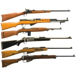 Six Rifles