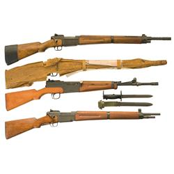 Four French Rifles